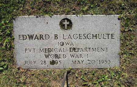LAGESCHULTE, EDWARD B - Bremer County, Iowa | EDWARD B LAGESCHULTE