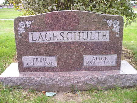 LAGESCHULTE, FRED - Bremer County, Iowa | FRED LAGESCHULTE
