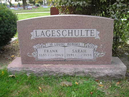 LAGESCHULTE, FRANK - Bremer County, Iowa | FRANK LAGESCHULTE