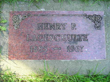LAGESCHULTE, HENRY P - Bremer County, Iowa | HENRY P LAGESCHULTE