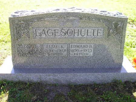 LAGESCHULTE, ELSIE K - Bremer County, Iowa | ELSIE K LAGESCHULTE