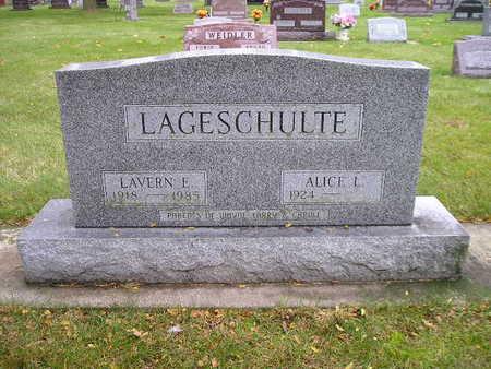 LAGESCHULTE, ALICE L - Bremer County, Iowa | ALICE L LAGESCHULTE