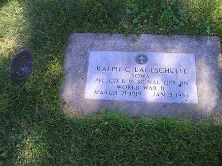 LAGESCHULTE, RALPH C - Bremer County, Iowa | RALPH C LAGESCHULTE