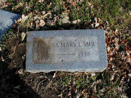 LAMB, DONNA MARY - Bremer County, Iowa   DONNA MARY LAMB