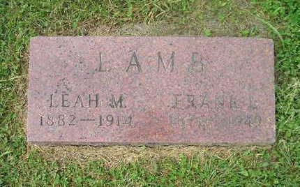 LAMB, LEAH M. - Bremer County, Iowa | LEAH M. LAMB
