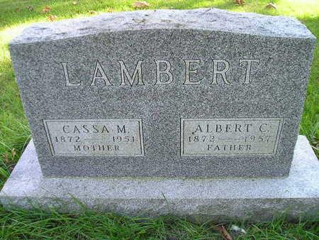 LAMBERT, CASSA M - Bremer County, Iowa | CASSA M LAMBERT