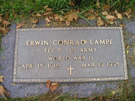 LAMPE, ERWIN CONRAD - Bremer County, Iowa   ERWIN CONRAD LAMPE