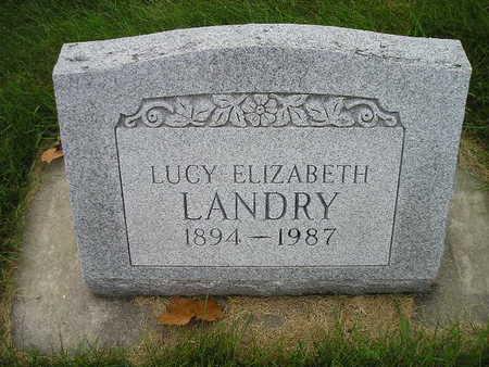 LANDRY, LUCY ELIZABETH - Bremer County, Iowa | LUCY ELIZABETH LANDRY