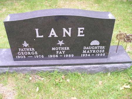 LANE, MAYROSE - Bremer County, Iowa | MAYROSE LANE