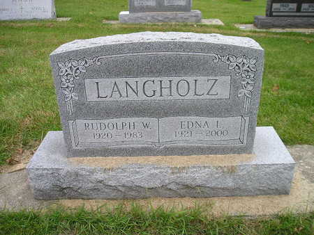 LANGHOLZ, RUDOLPH W - Bremer County, Iowa | RUDOLPH W LANGHOLZ