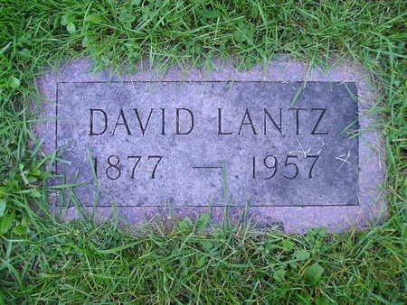 LANTZ, DAVID - Bremer County, Iowa   DAVID LANTZ