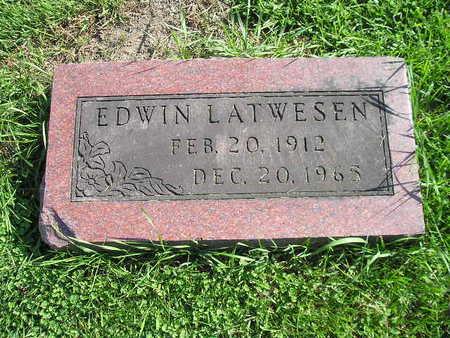 LATWESEN, EDWIN - Bremer County, Iowa | EDWIN LATWESEN