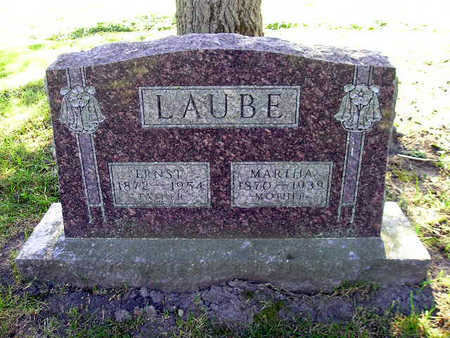 LAUBE, ERNST - Bremer County, Iowa   ERNST LAUBE