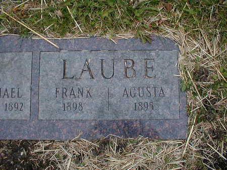 LAUBE, AGUSTA - Bremer County, Iowa | AGUSTA LAUBE