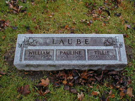 LAUBE, WILLIAM - Bremer County, Iowa | WILLIAM LAUBE