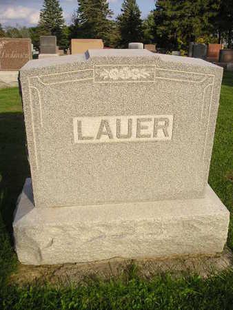 LAUER, FAMILY - Bremer County, Iowa   FAMILY LAUER