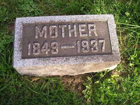 LAUER, MOTHER - Bremer County, Iowa | MOTHER LAUER