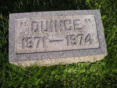 LAUER, QUINCE - Bremer County, Iowa | QUINCE LAUER
