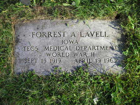 LAVELL, FORREST A - Bremer County, Iowa | FORREST A LAVELL