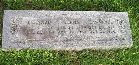 LAWRENCE, VERNA - Bremer County, Iowa   VERNA LAWRENCE