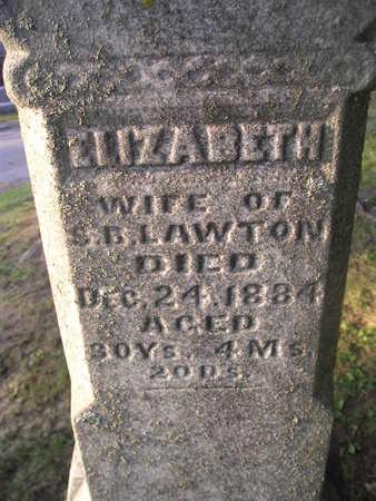LAWTON, ELIZABETH - Bremer County, Iowa | ELIZABETH LAWTON