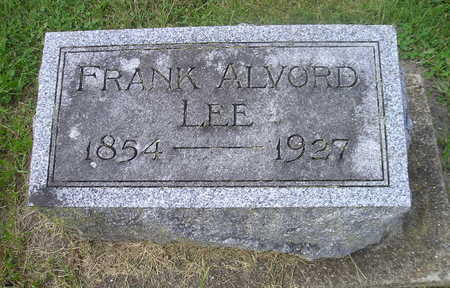 LEE, FRANK ALVORD - Bremer County, Iowa | FRANK ALVORD LEE