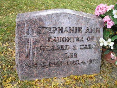 LEE, STEPHANIE ANN - Bremer County, Iowa   STEPHANIE ANN LEE