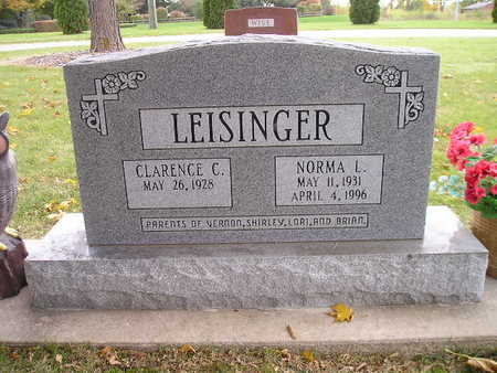 LEISINGER, CLARENCE C - Bremer County, Iowa | CLARENCE C LEISINGER