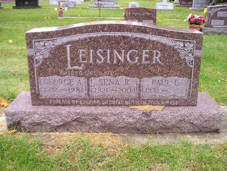 LEISINGER, PAUL E - Bremer County, Iowa | PAUL E LEISINGER