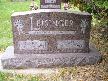 LEISINGER, HENRY O - Bremer County, Iowa   HENRY O LEISINGER