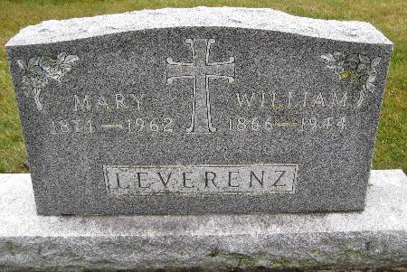 LEVERENZ, MARY - Bremer County, Iowa | MARY LEVERENZ
