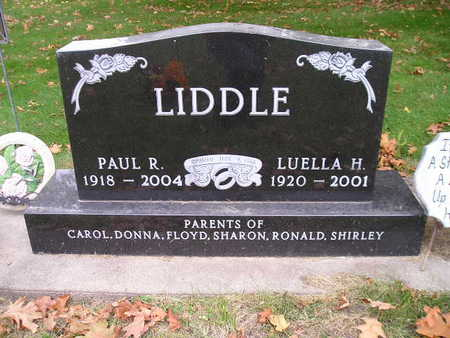 LIDDLE, LUELLA H - Bremer County, Iowa | LUELLA H LIDDLE