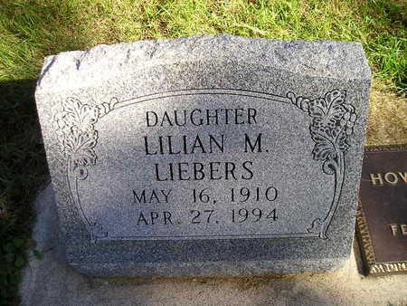 LIEBERS, LILIAN - Bremer County, Iowa | LILIAN LIEBERS