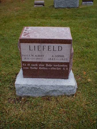 LIEFELD, A SOPHIE - Bremer County, Iowa | A SOPHIE LIEFELD