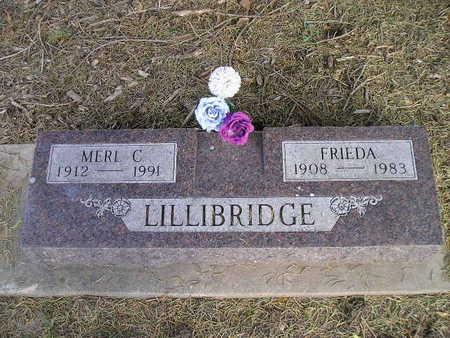 LILLIBRIDGE, FRIEDA - Bremer County, Iowa   FRIEDA LILLIBRIDGE