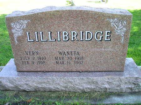 LILLIBRIDGE, VERN - Bremer County, Iowa   VERN LILLIBRIDGE