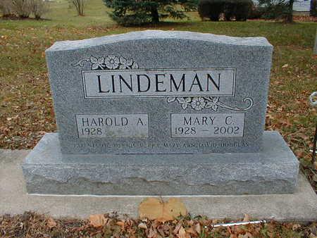 LINDEMAN, MARY C - Bremer County, Iowa   MARY C LINDEMAN