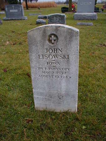 LISOWSKI, JOHN - Bremer County, Iowa | JOHN LISOWSKI