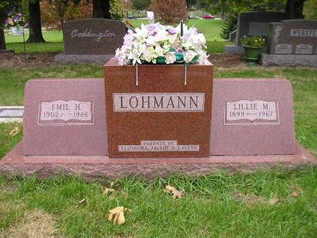 LOHMANN, LILLIE M - Bremer County, Iowa | LILLIE M LOHMANN