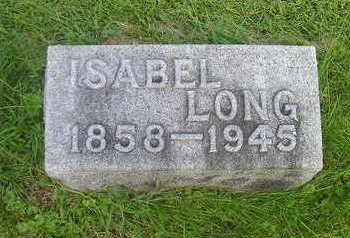 LONG, ISABEL - Bremer County, Iowa   ISABEL LONG
