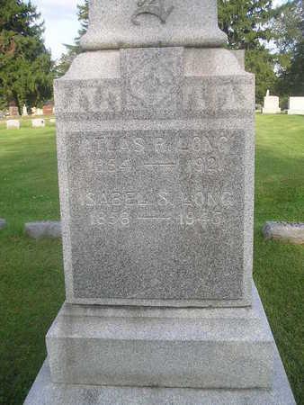 LONG, ISABEL - Bremer County, Iowa | ISABEL LONG