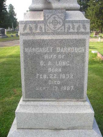 DARROUGH LONG, MARGARET - Bremer County, Iowa   MARGARET DARROUGH LONG