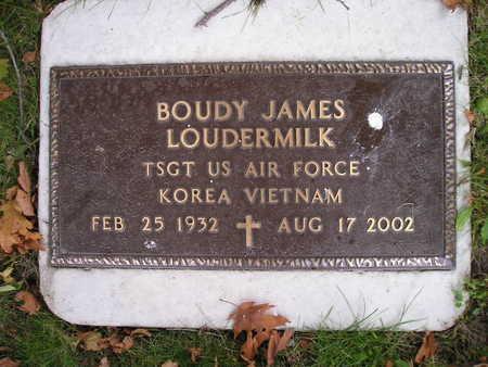 LOUDERMILK, BOUDY JAMES - Bremer County, Iowa   BOUDY JAMES LOUDERMILK