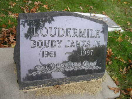 LOUDERMILK, BOUDY JAMES JR - Bremer County, Iowa | BOUDY JAMES JR LOUDERMILK