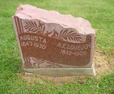 LOVEJOY, A . E. - Bremer County, Iowa | A . E. LOVEJOY