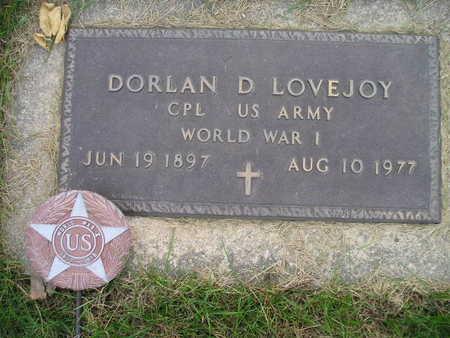 LOVEJOY, DORLAN D - Bremer County, Iowa | DORLAN D LOVEJOY