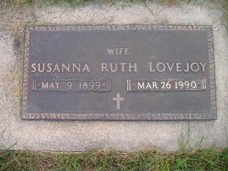 LOVEJOY, SUSANNA RUTH - Bremer County, Iowa | SUSANNA RUTH LOVEJOY