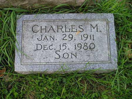 LOWDER, CHARLES M - Bremer County, Iowa   CHARLES M LOWDER