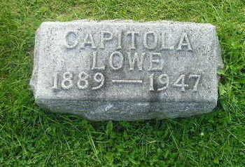 LOWE, CAPITOLA - Bremer County, Iowa | CAPITOLA LOWE