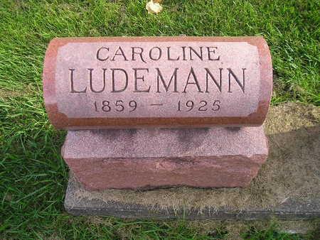LUDEMANN, CAROLINE - Bremer County, Iowa | CAROLINE LUDEMANN